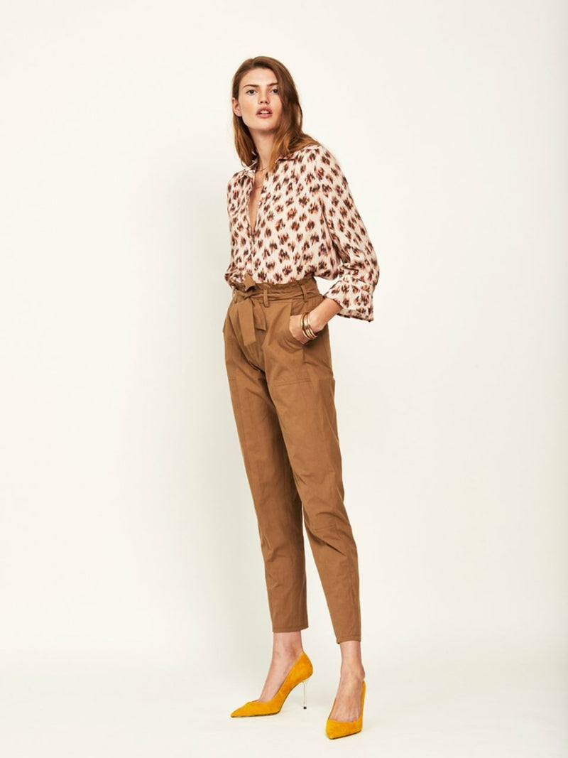 WILLOW animaux print blouse