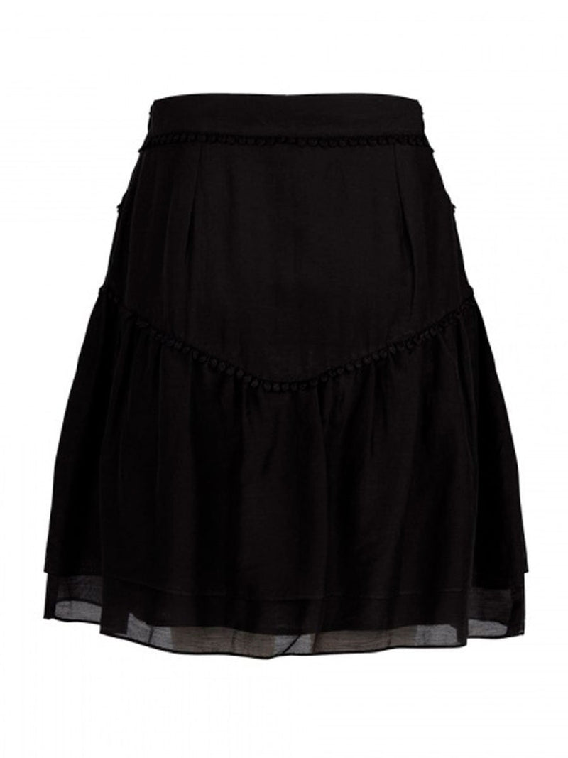 LOUBI embroidery skirt
