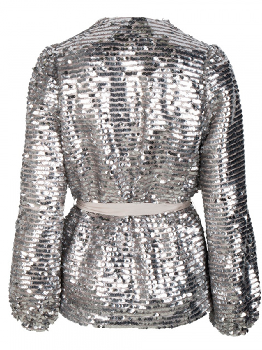 QUANDY sequin cardigan