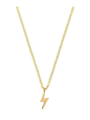Edbladin Lightning necklace värissä Gold.