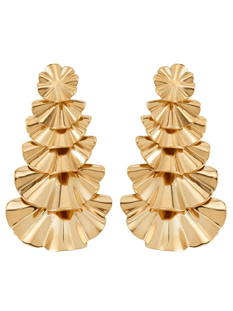 Edbladin Soare earrings värissä Gold.