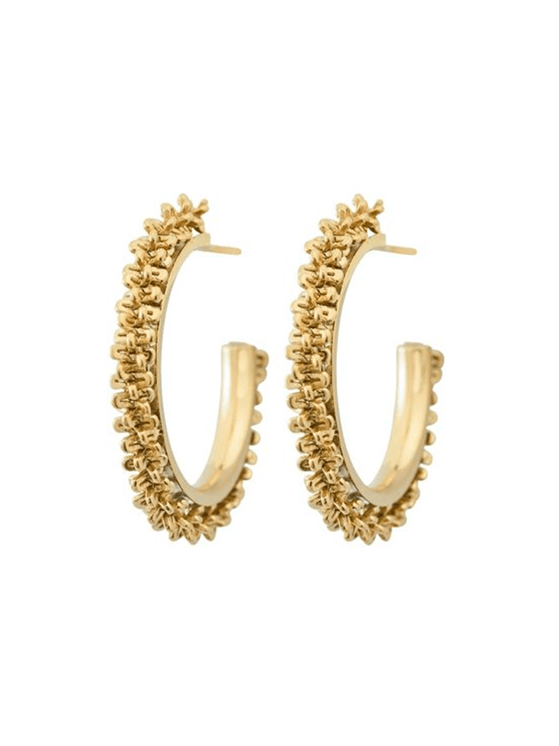 Edbladin Tinsel earrings värissä Gold