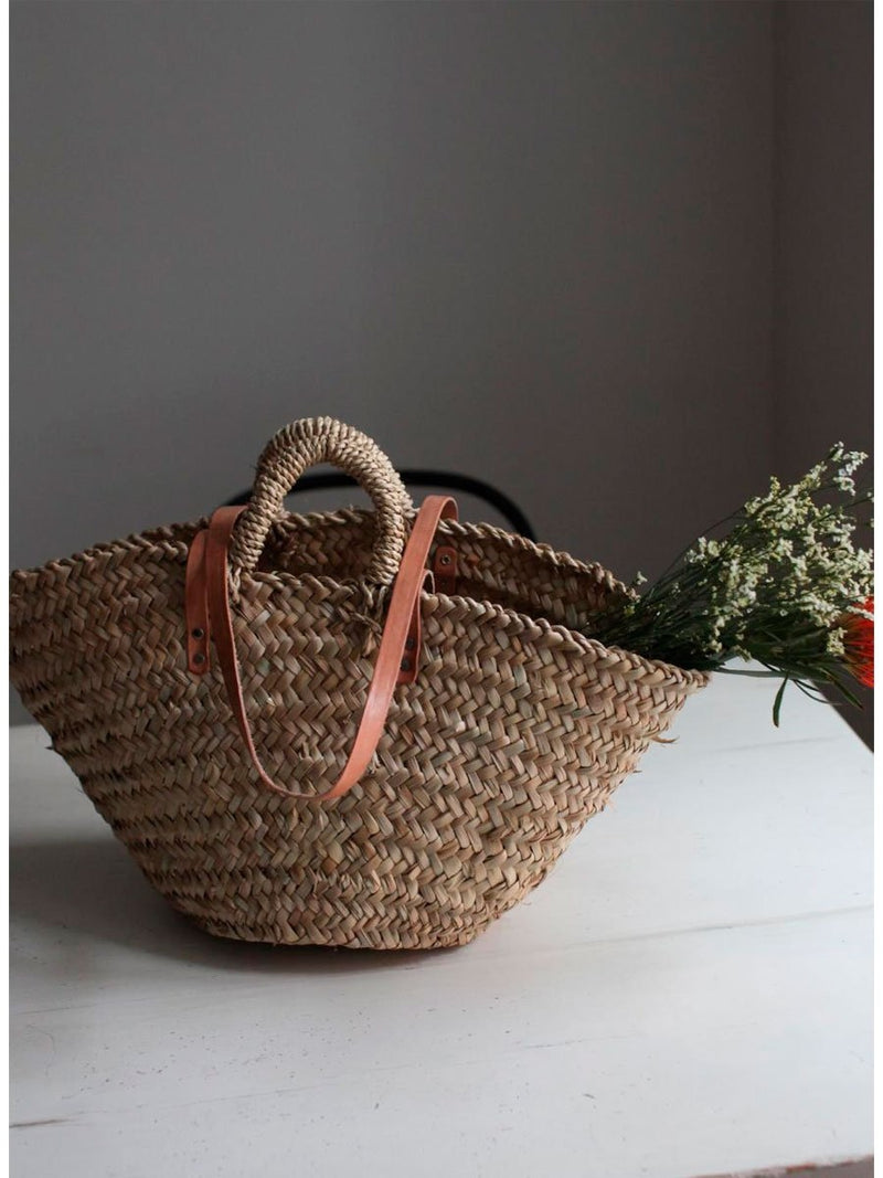 Palm bag with strap