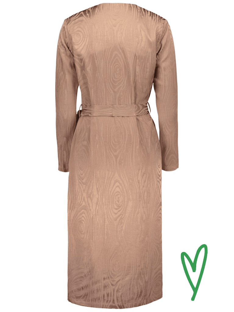 Kaarna Midi Wrap Dress Mekot