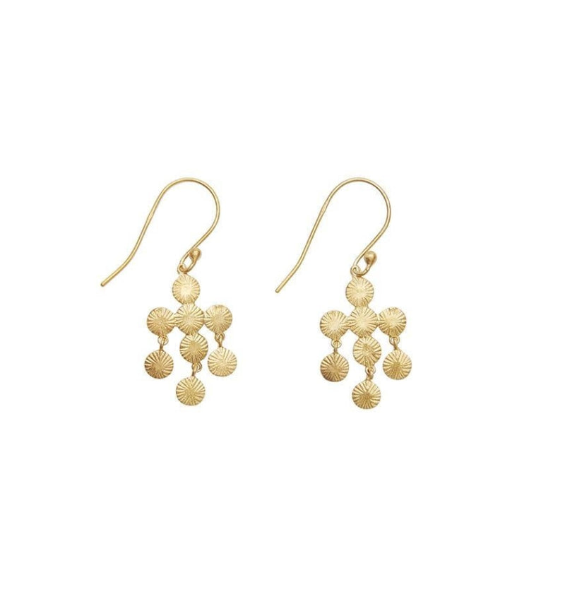 Picon Isabella earrings värissä Gold.