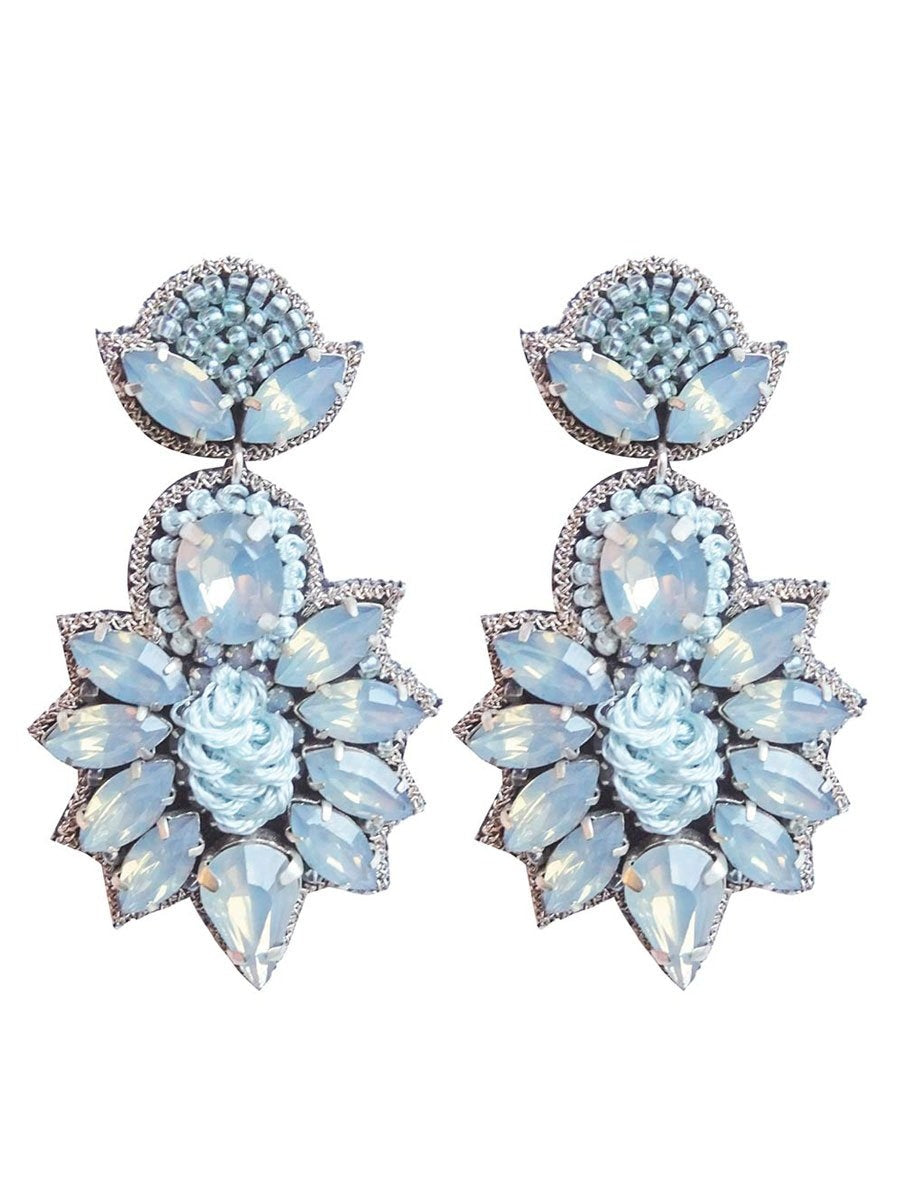 Pipol's Bazaarin Gina Earrings värissä Blue.