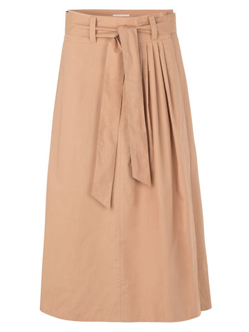 NOORA leather skirt