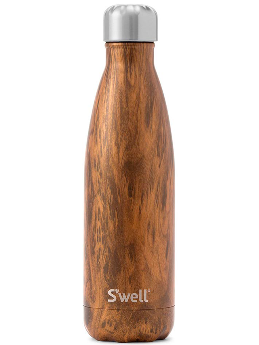Swellin teakwood bottle värissä Brown.