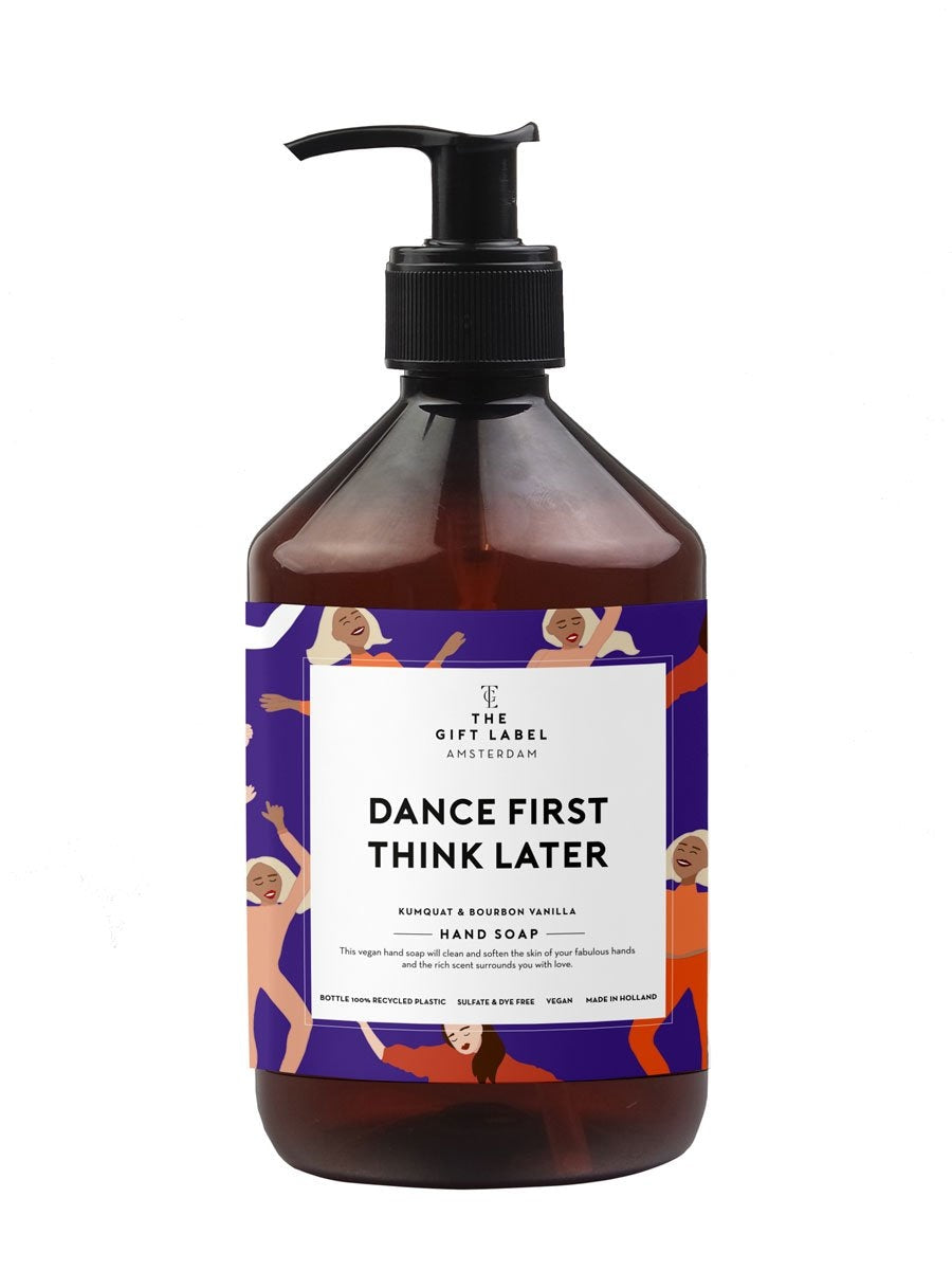 The Gift Labelin Dance First Think Later käsisaippua.