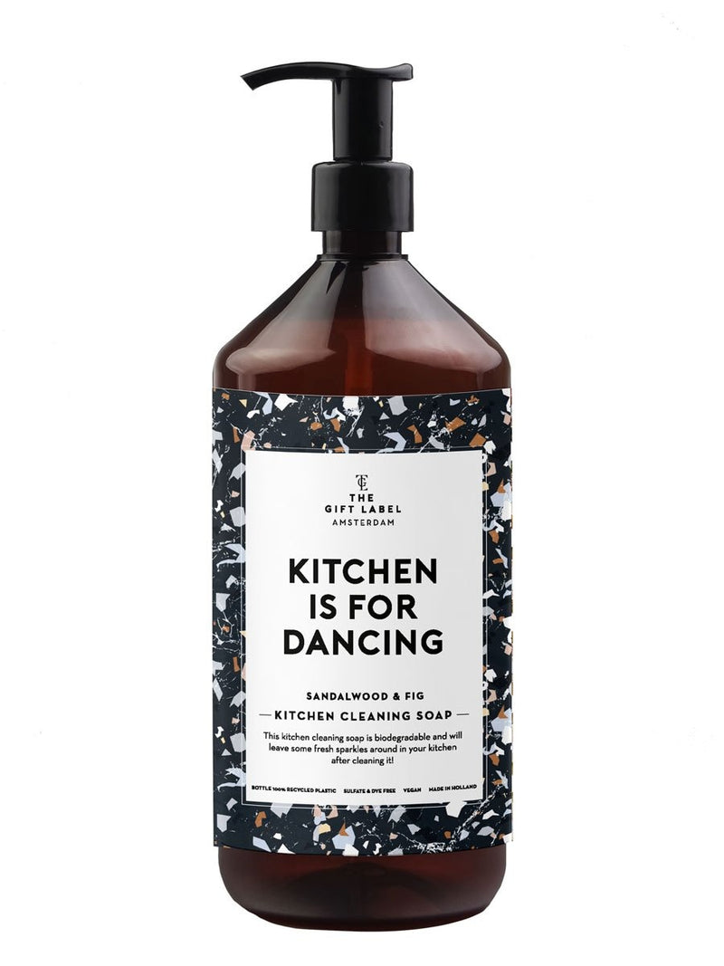 The Gift Labelin Kitchen is for dancing keittiöpesuaine.