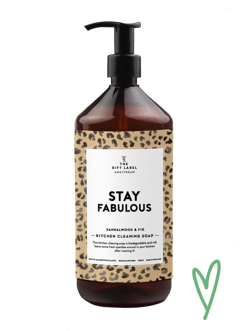 The Gift Labelin Stay Fabulous tiskiaine.
