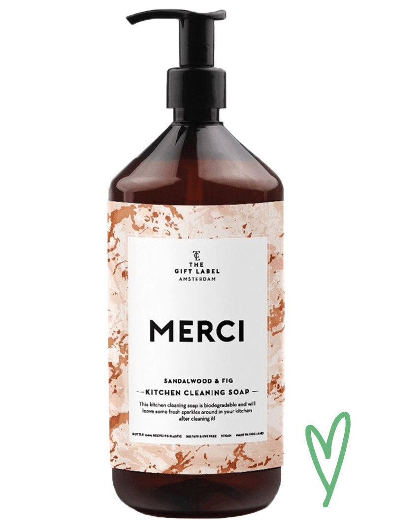 MERCI kitchen cleaning soap