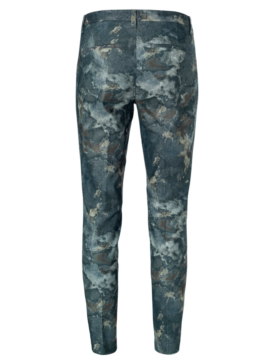 Printed stretch pant