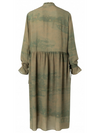 MAXI Dress With Ruffled Neck