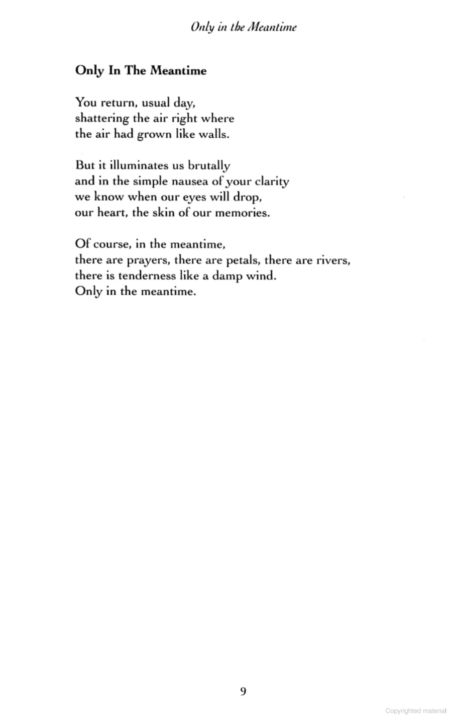Only in the Meantime and Office Poems by Mario Benedetti