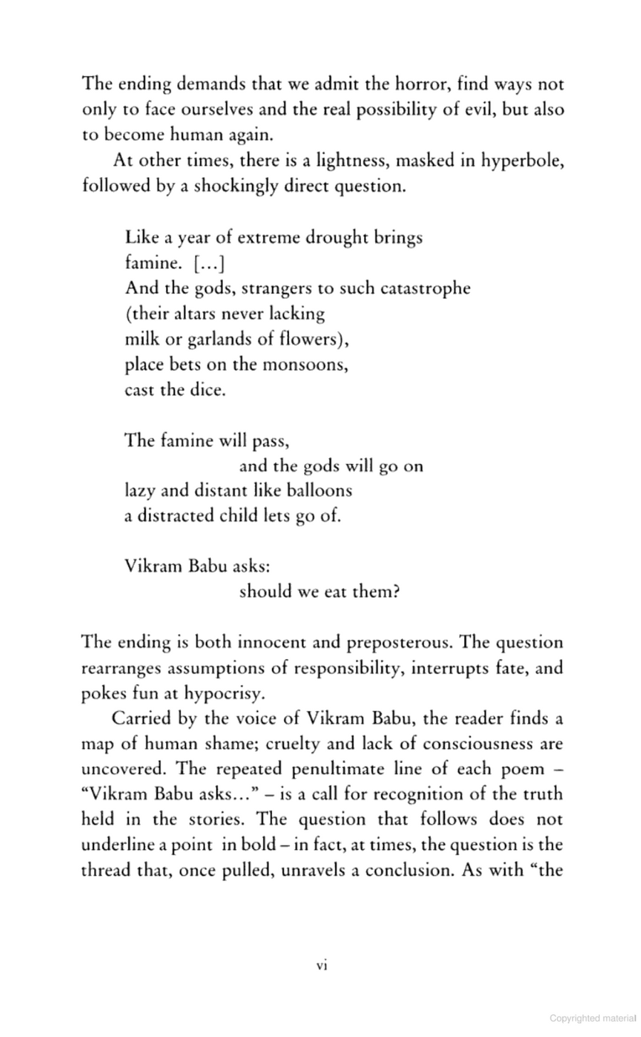 The Poems of Vikram Babu by Jesús Aguado