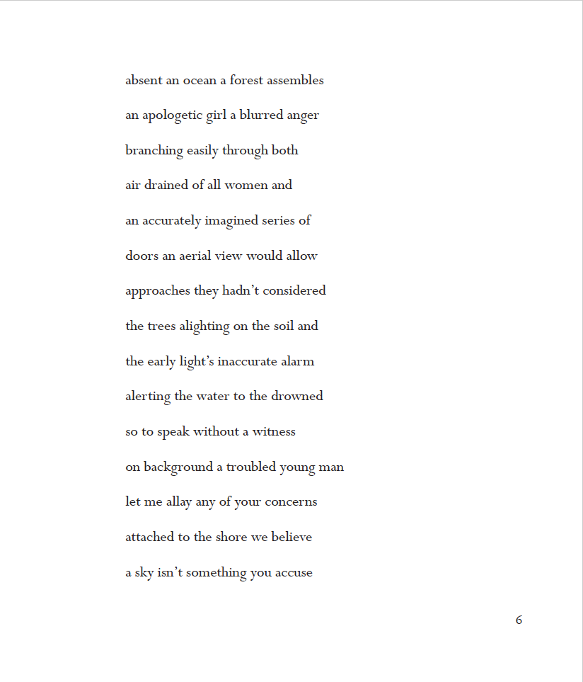 from The Water [Inaudible] by Stephanie Goehring