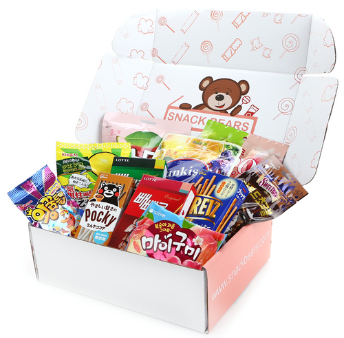 Asian snack box from Snack Bears