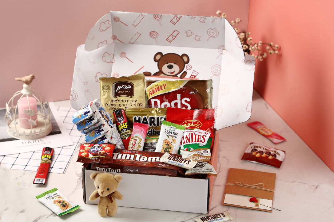 Mystery snack box from Snack Bears
