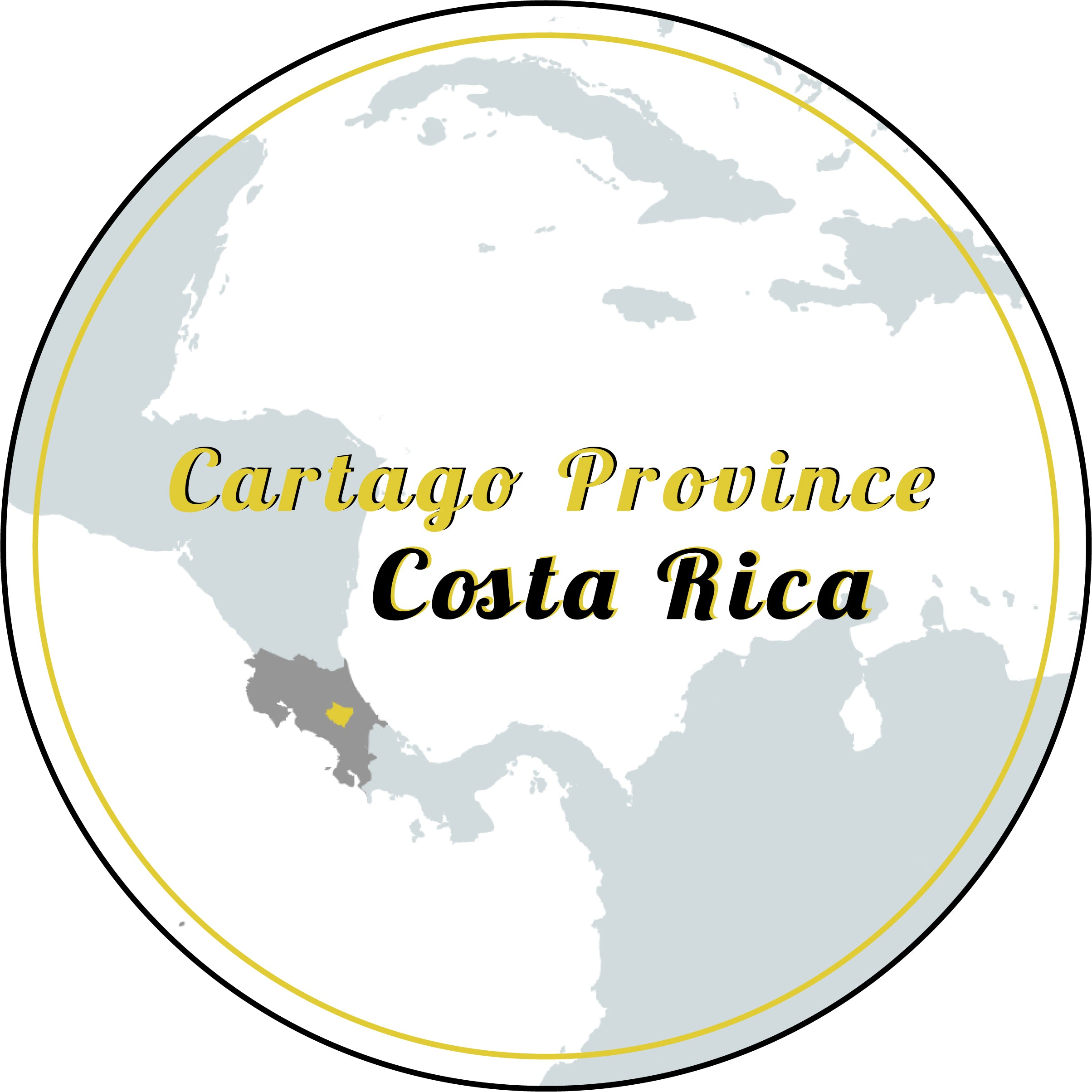 Goldilocks varietal map: Cartago Province, Costa Rica