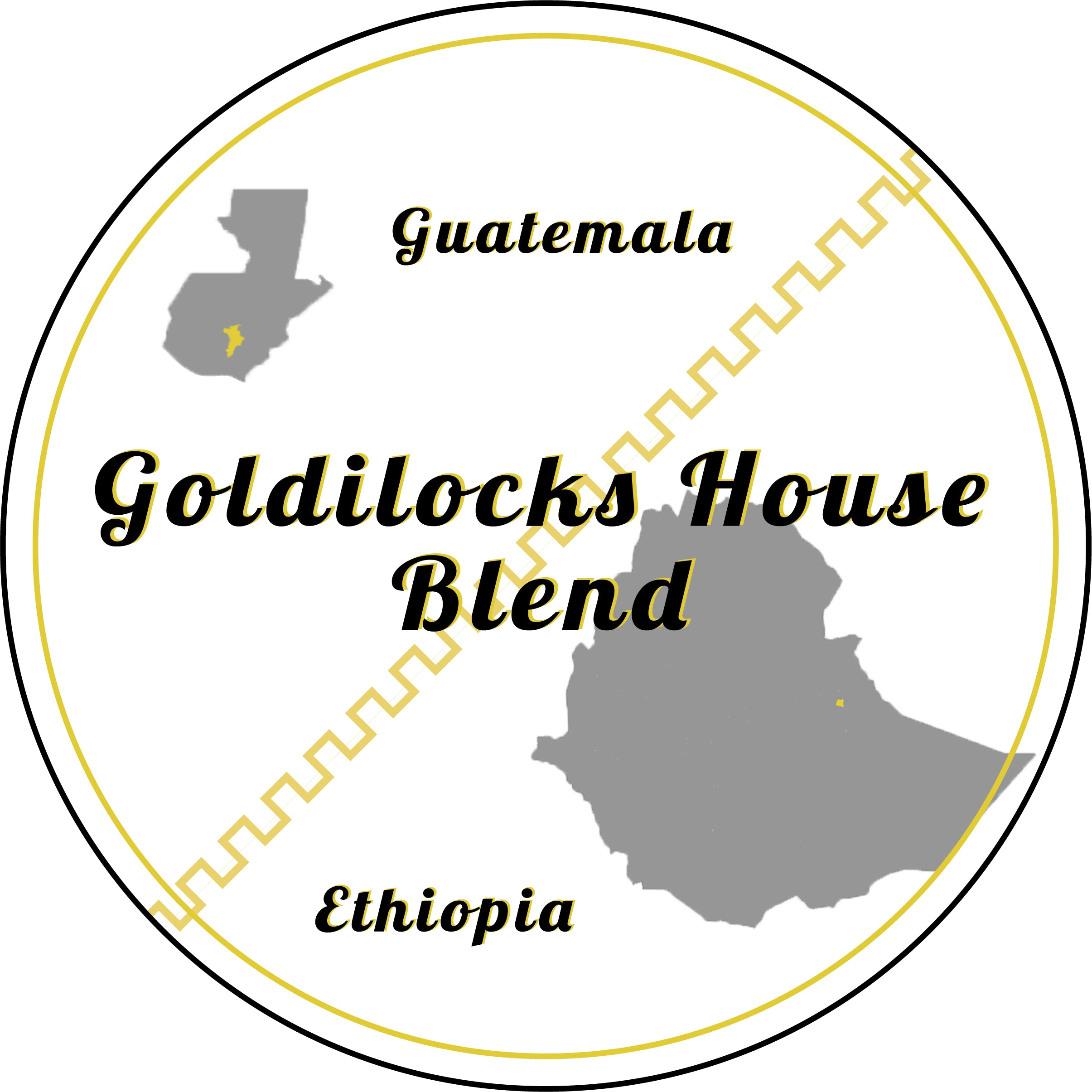 Goldilocks House Blend: Ethiopian and Guatemalan