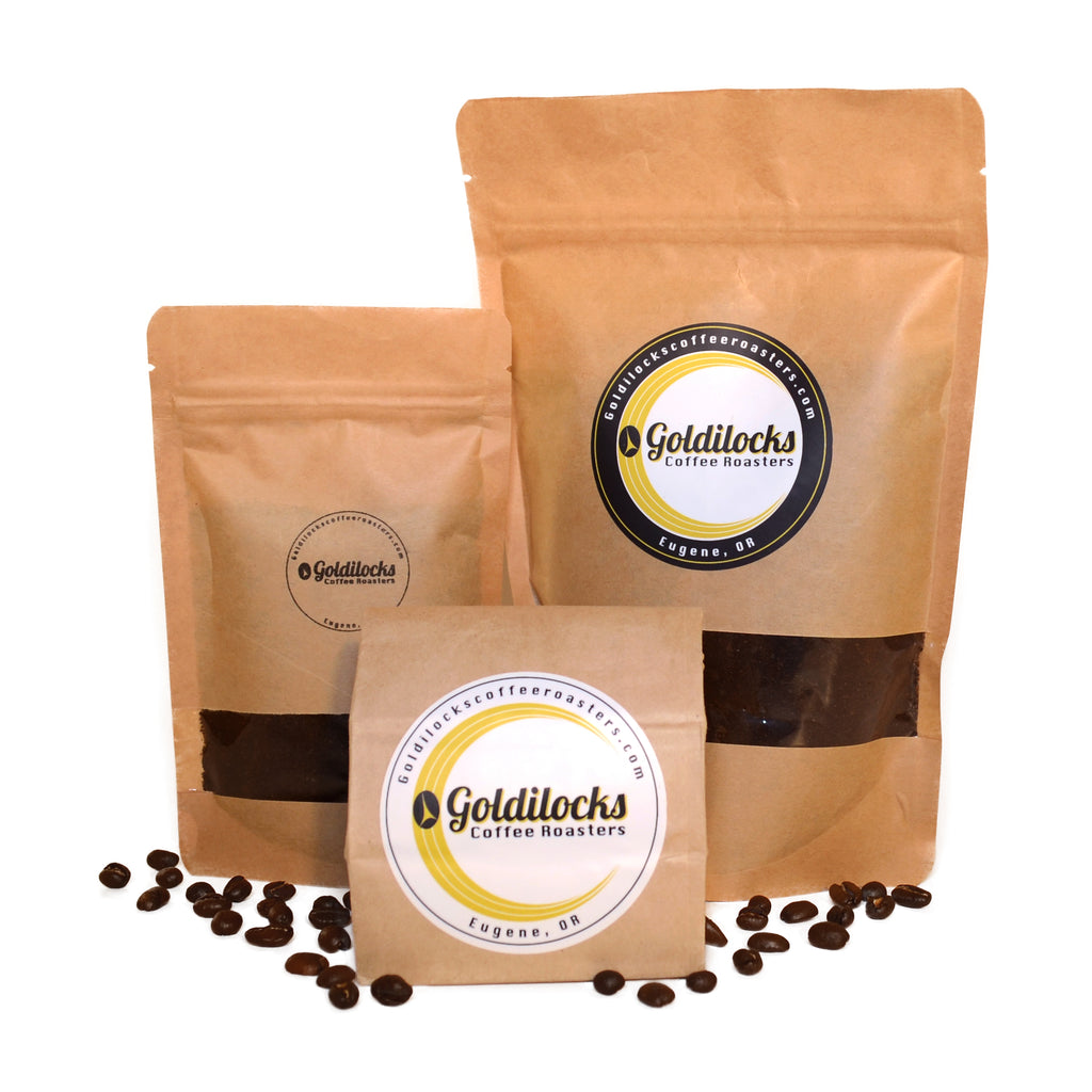 Goldilocks Seasonal Whole Bean: Columbian, Guatemalan, Kona