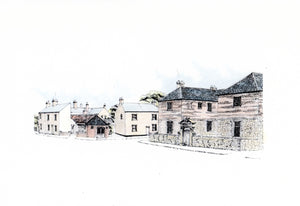 The Old Men's Hospital & Village Lockup