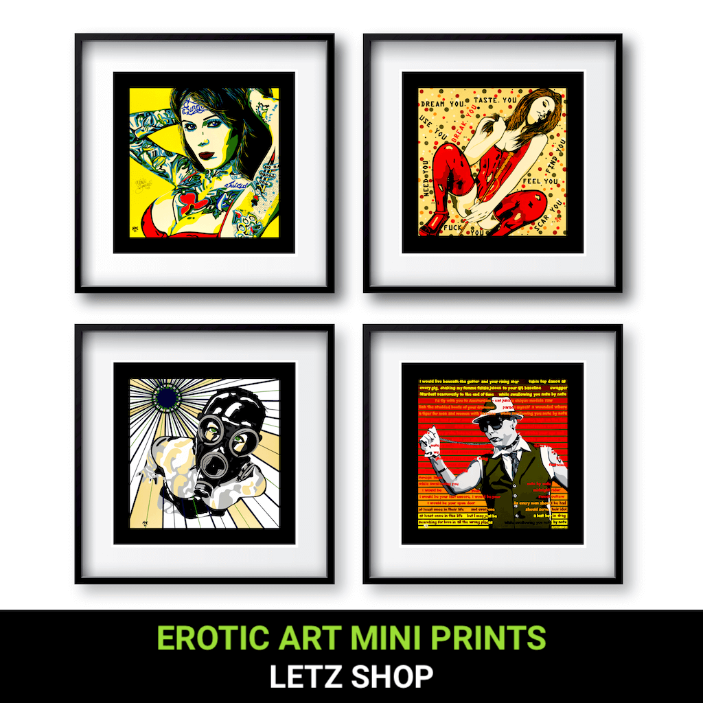Buy Erotic Art Prints by Artist Anita Nevar | Ravenged.