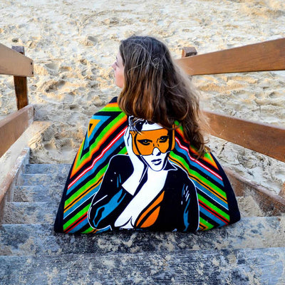 Shop MELUXINE Erotic Art Beach Towels by Ravenged | For Surf, Gym, Pool, Bath.