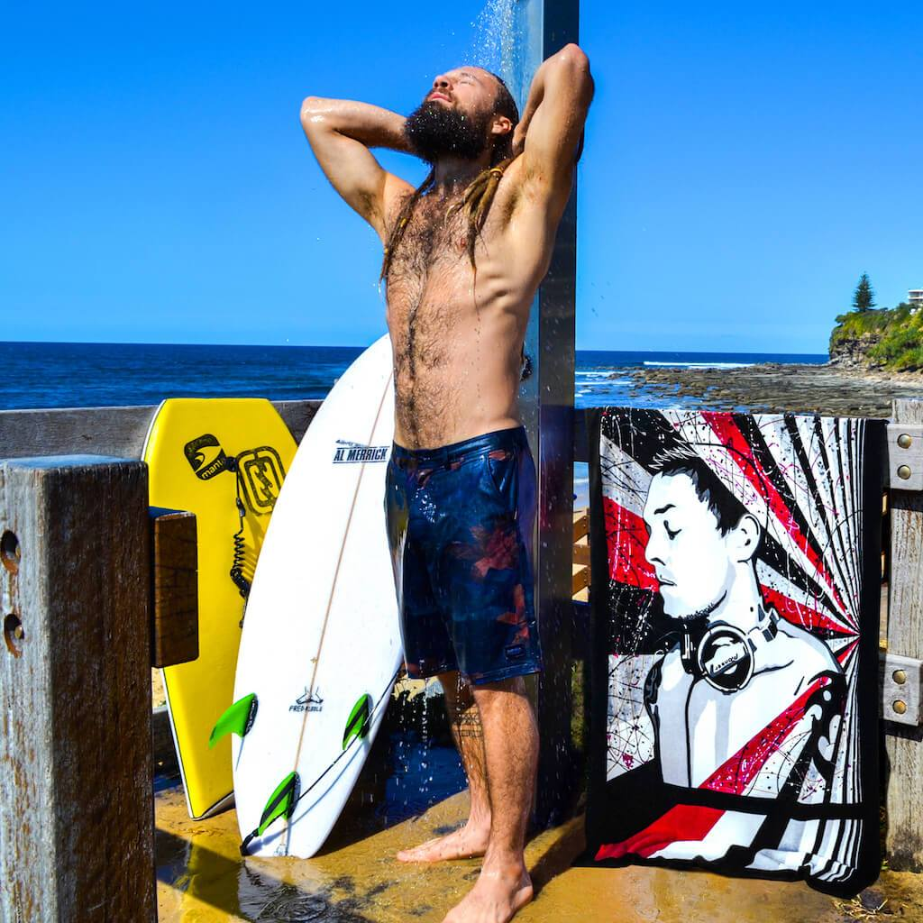 Shop DEEJAK LK Cool Art Beach Towels by Ravenged | For Surf, Gym, Pool, Bath.