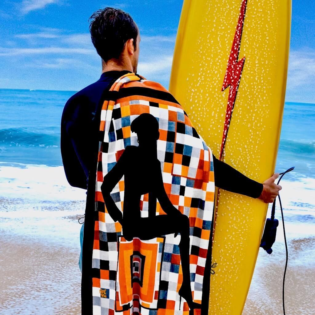 Shop ILLUSIONS Erotic Art Beach Towels by Ravenged | For Surf, Gym, Pool, Bath.