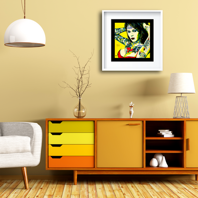 Buy BOMBSHELL Erotic Art Prints by Artist Anita Nevar | Ravenged Online Store.