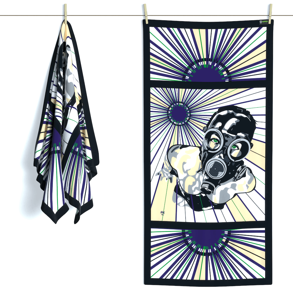 Shop EVIL A Erotic Art Beach Towels by Ravenged | For Surf, Gym, Pool, Bath.