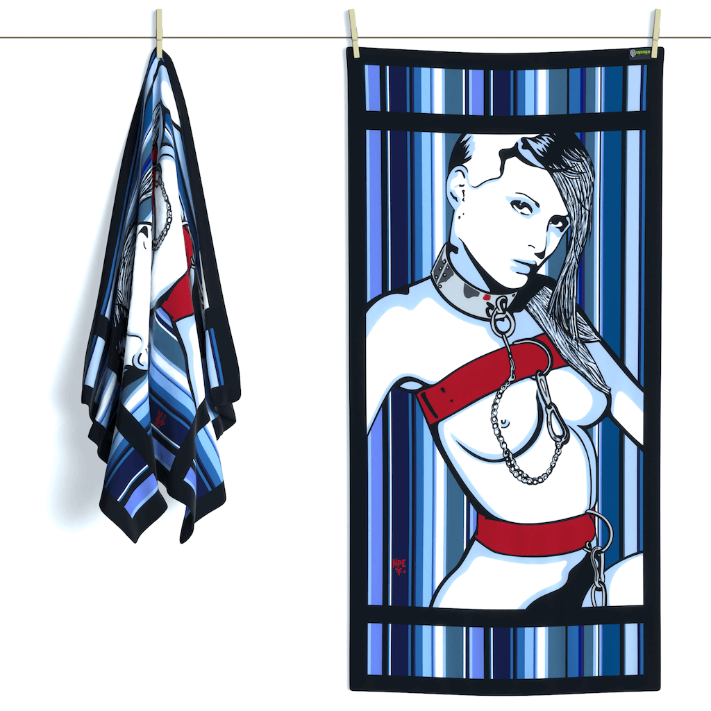 Shop LOLITA Erotic Art Beach Towels by Ravenged | For Surf, Gym, Pool, Bath.