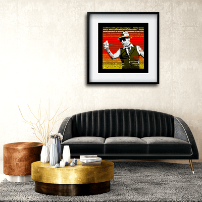 Buy ROCK N ROLL GIRLFRIEND Erotic Art Prints by Artist Anita Nevar | Ravenged Online Store.