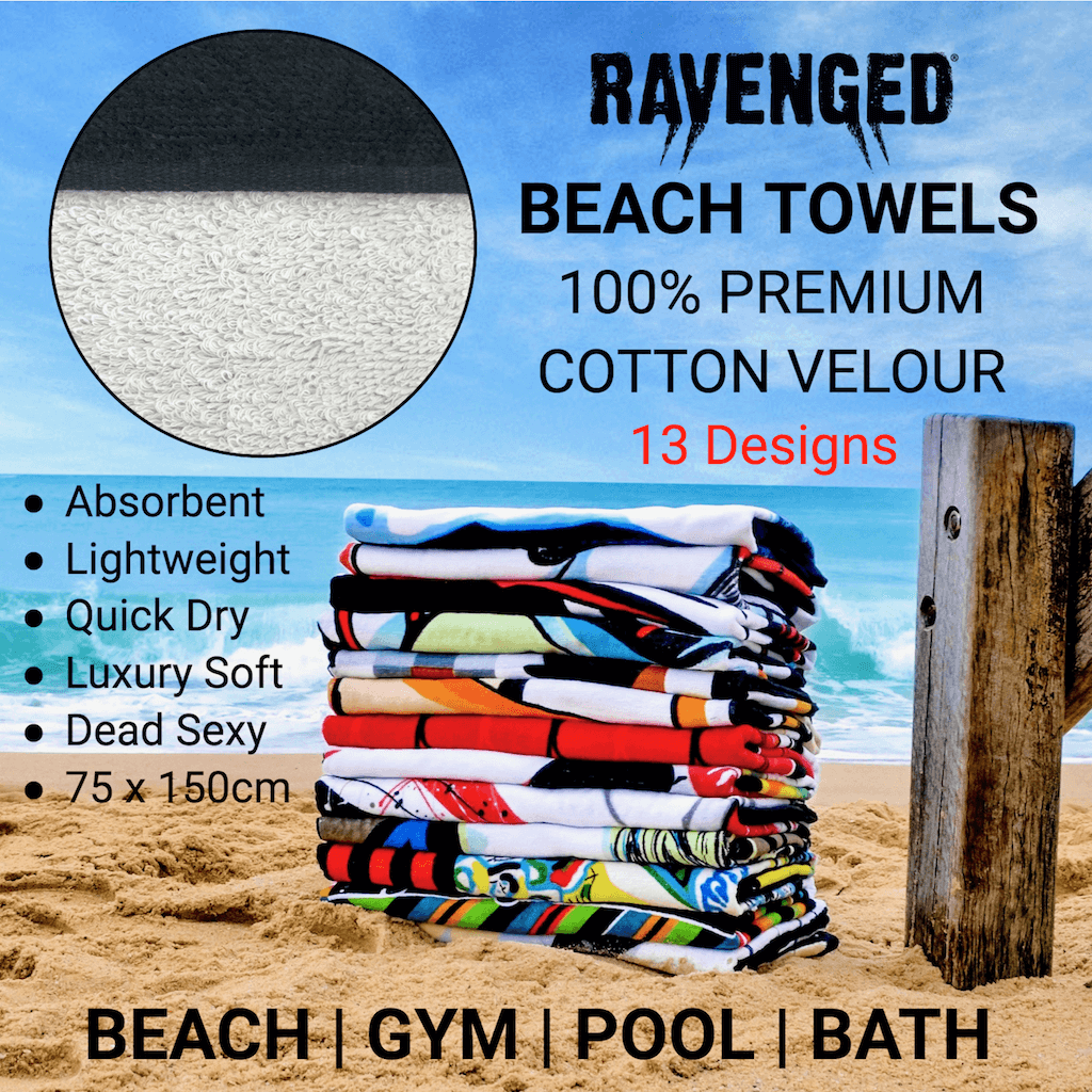 Shop Luxury Erotic Art Beach Towels by Ravenged | For Surf, Gym, Pool, Bath.