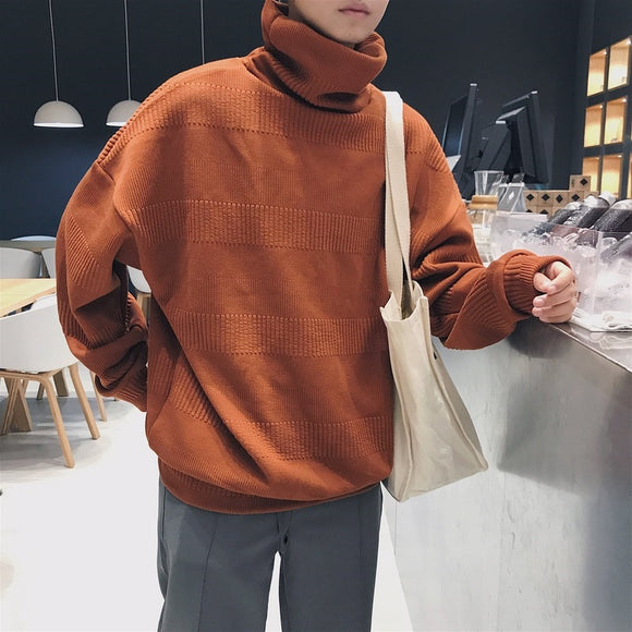 Solid Color Oversized Sweater Loose Style