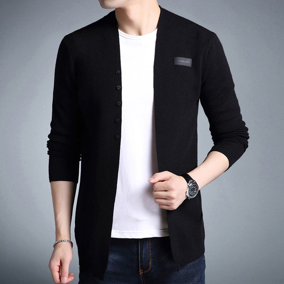 High Quality Casual Solid Knitted Cardigan