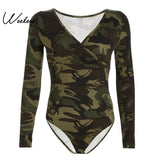 Casual camouflage Romper Women Jumpsuits