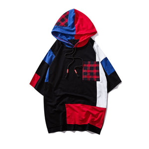 Short Sleeve Hooded Sweatshirts
