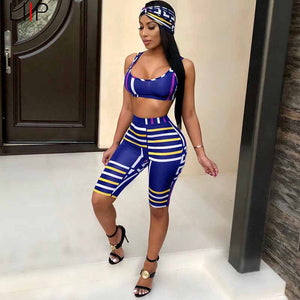 sexy tracksuit women two piece women set crop top and pants sets