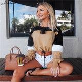 Casual Adjustable Bottom Size Khaki Top