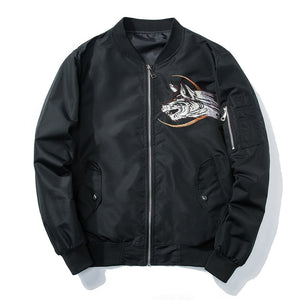 Ma-1 Bomber  Wolf Embroidery  Jackets C