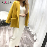 l solid color knit vest dress sling harness sweater
