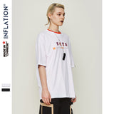 Graphic Print Tee Loose Fit Short Sleeve T-shirt