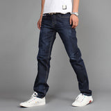 Slim fit Straight High Stretch Feet skinny jeans