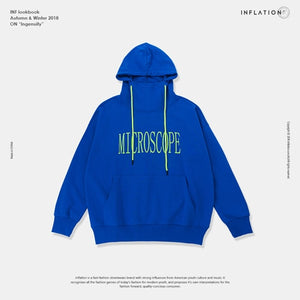 Microscope Embroidery Fashion Hoodies