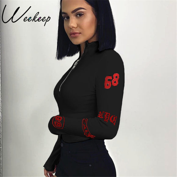 Sexy  Turtleneck Long Sleeve Jumpsuit