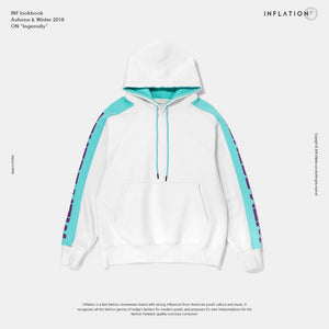 White Hooded Pullover