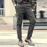 Slim Fit Straight long skinny casual pants